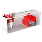 Pro Clear Red Flex 4 in 1 Sump 400