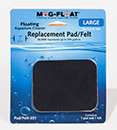 Mag-Float® Glass Aquarium Cleaner Replacement Pad/Felt - Large
