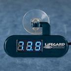 Lifegard Aquatics LED Digital Thermometer