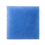 "Blue Bonded 1.25"" Thick Mechanical Filter Media Pads"
