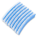 "Blue Bonded Filter Pad - 1-1/4"" Thick x 12"" x 4"""