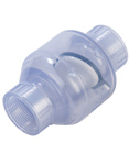 FPT x FPT Swing Check Valve (Clear)