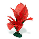 Azoo Real Plant Artificial Anubias - Red