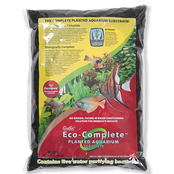 CaribSea® Eco-Complete™ Planted Aquarium Substrate, Black