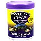 Omega One Cichlid Flakes Cichlid Food