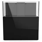 110 Gallon ProStar Rimless Glass Aquarium - Black