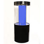 Pro Clear Cylinder Aquarium Model 125 - Black