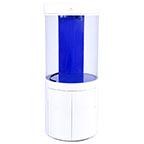 Pro Clear Cylinder Aquarium Model 80 - White