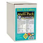 San Francisco Bay Brand® Roll-A-Cubes Freshwater Multi-Pack™ Frozen Fish Food