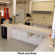 Pack-out Area