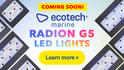 New EcoTech Marine Radion G5 LED Light Fixtures