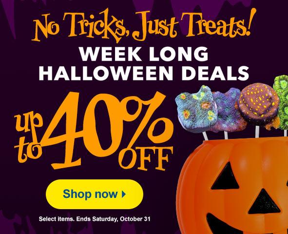 Save on Halloween Specials