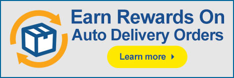 Earn Rewards on Auto Delivery