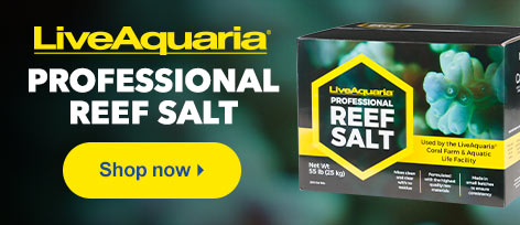 Live Aquaria Professional Reef Salt