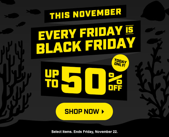 Every Friday is Black Friday